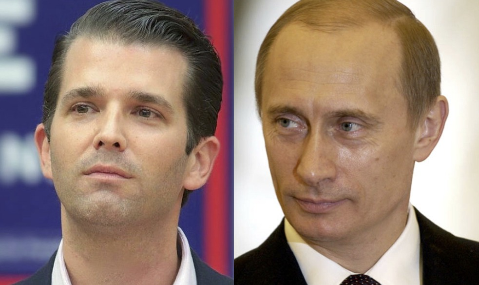 Did Vladimir Putin just take down Donald Trump Jr?