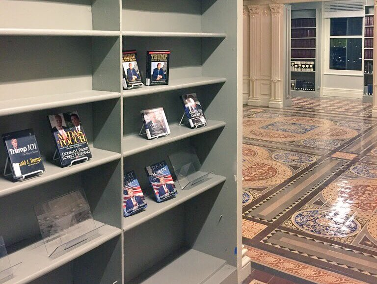 Old State Department Library Now Consists Of Nothing But