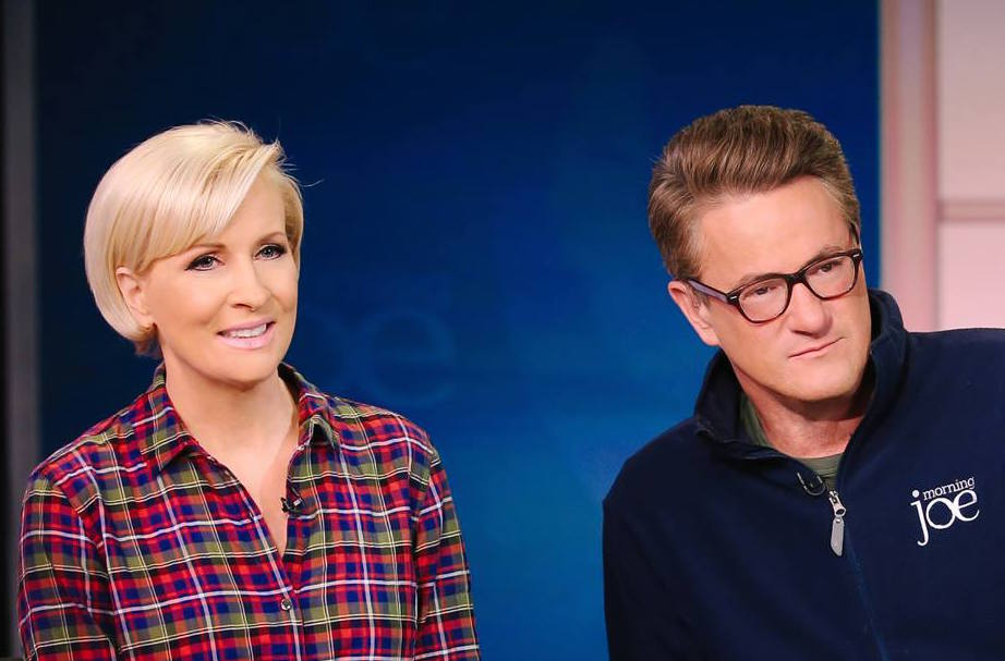Morning Joe hosts face blowback after spotted at Donald ...