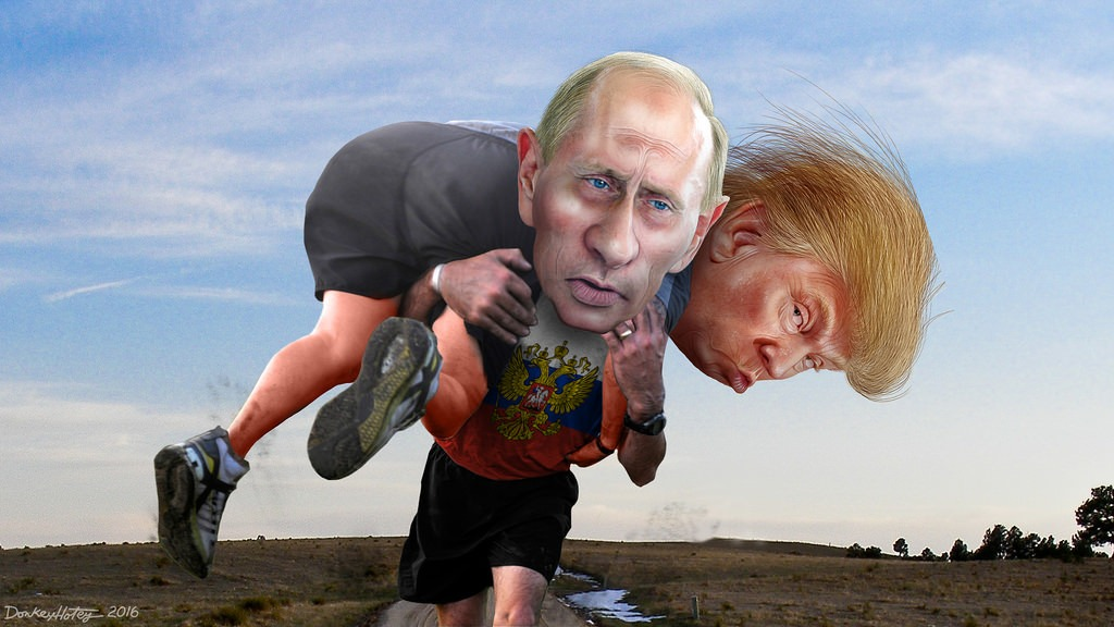 Donald Trump And Vladimir Putin Desperately Plot Their Endgame