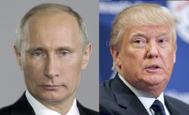 Turns out Vladimir Putin was behind Donald Trump's Taliban stunt