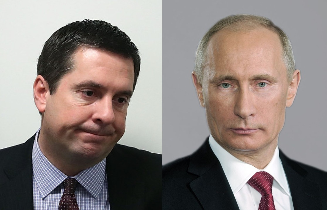 Devin Nunes has most of his net worth tied up in a company that does business in Russia