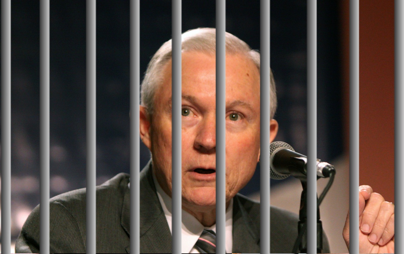 Image result for jeff sessions prison