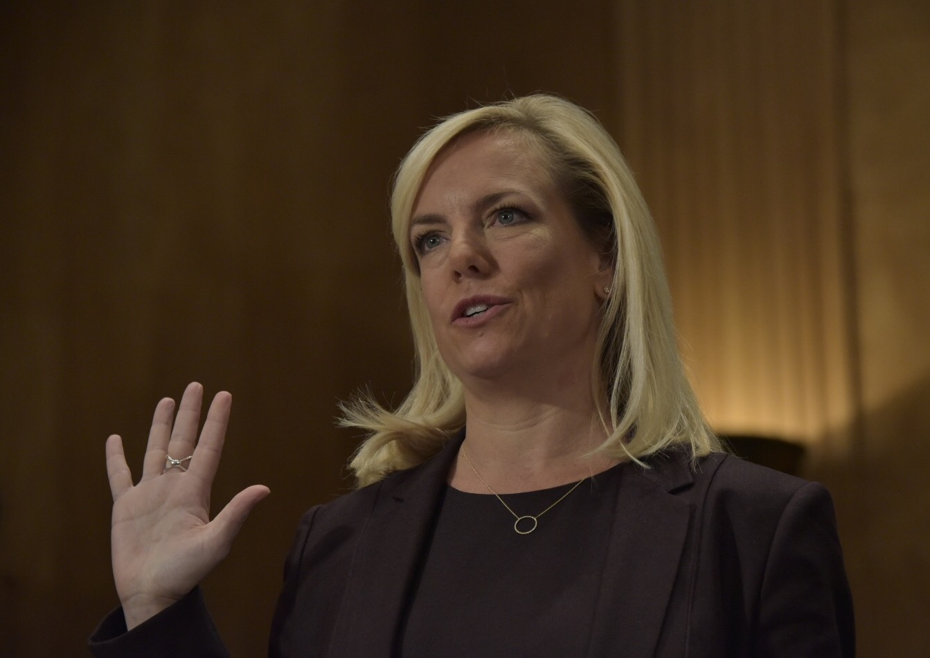 Kirstjen Nielsen Opens Her Mouth And Screws Up Donald