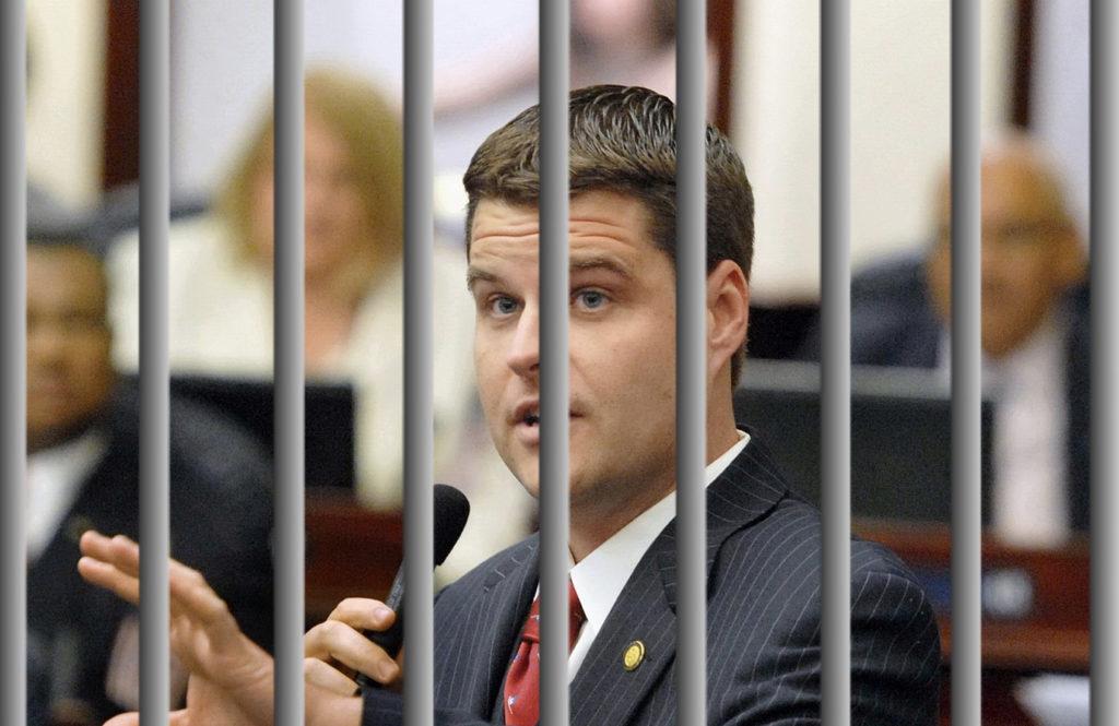 After Committing Felony Witness Tampering Matt Gaetz