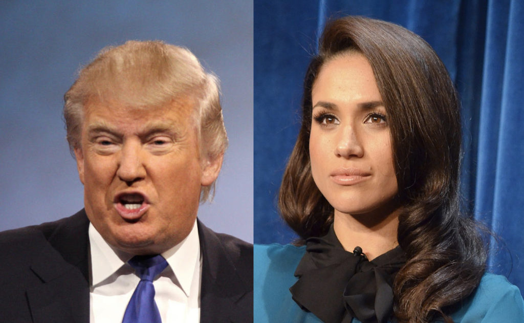 Donald Trump Tries To Push Back Against His Meghan Markle